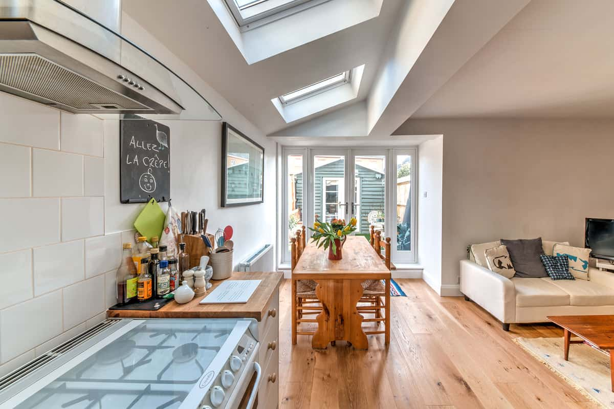 house extensions earlsfield - kitchen side extension